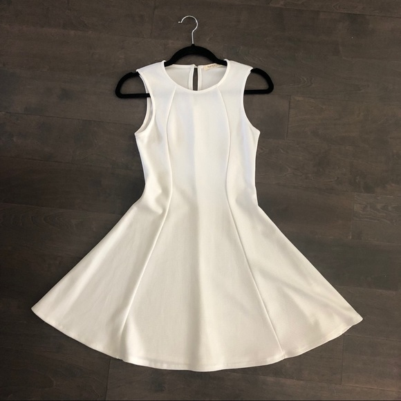 humble chic Dresses & Skirts - White Skater Dress Flare